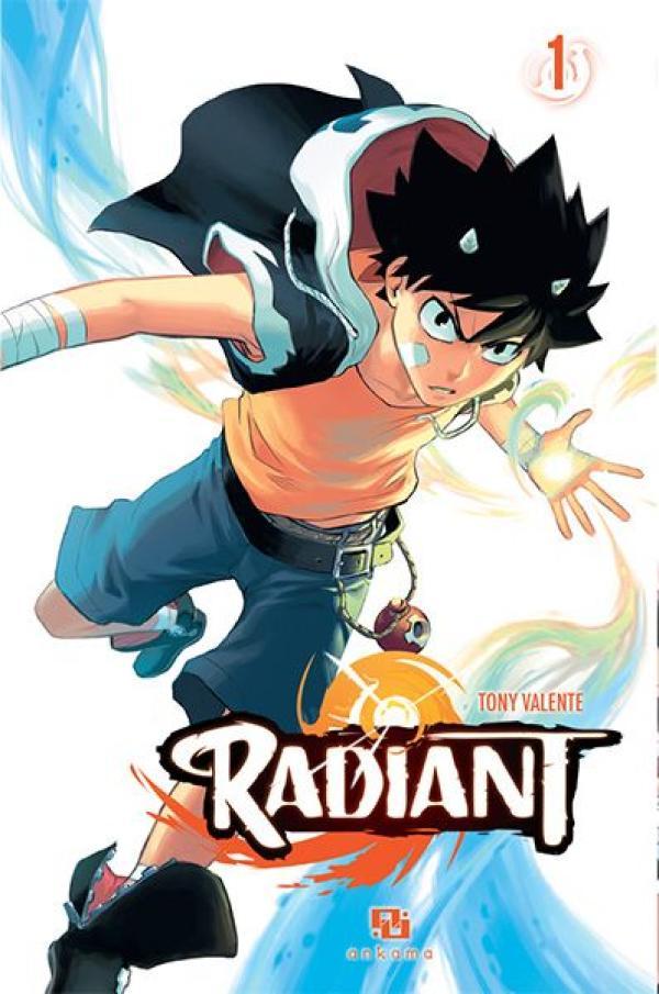 La couverture du tome 1 de« Radiant».