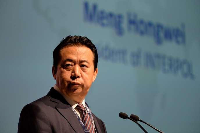 Meng Hongwei, en juillet 2017.