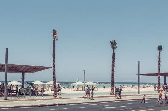 La promenade de Tel-Aviv.