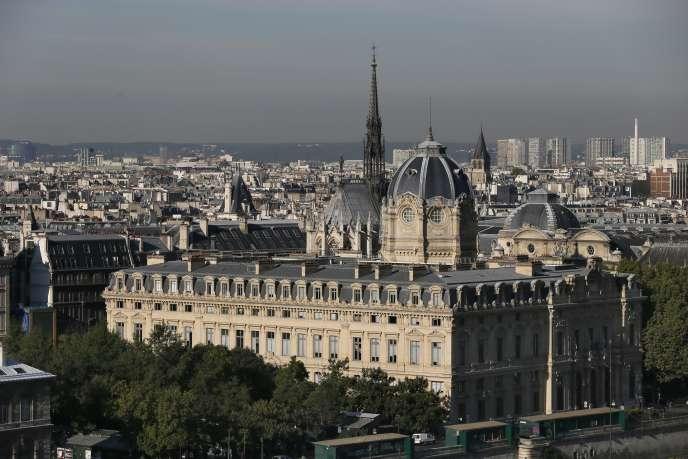 Le Tribunal de commerce de Paris, en septembre 2015.