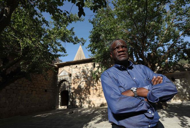 Denis Mukwege enIrak, le 24 juin.