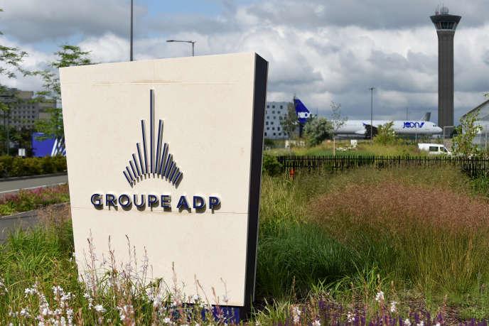 Le siège d'ADP (Aéroports de Paris), à Tremblay-en-France, près de l'aéroport de Roissy, le 4 octobre.