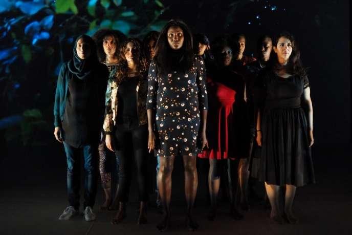 « F(l)ammes », une pièce mise en scène parAhmed Madani au Théâtre des Quartiers d'Ivry, jusqu'au 15 octobre.