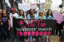 Marche contre les abus sexuels à Hollywood, à Los Angeles, le 12 novembre 2017.