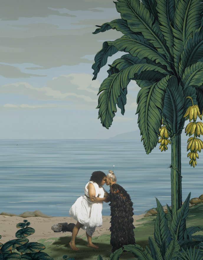 «In Pursuit of Venus [infected]» (2015-2017), une vidéo (détail) deLisa Reihana, Auckland Art Gallery Toi o Tāmaki.