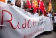 Manifestation à Riace, le 6octobre, pour soutenir le maire du village, Domenico Lucano.