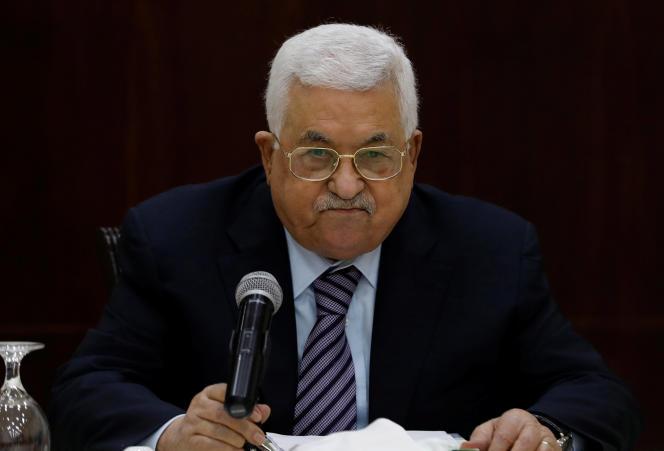 Mahmoud Abbas, le président de l'Autorité palestinienne, le 6 octobre.