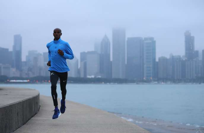 Mo Farah, le 6 octobre, à Chicago.