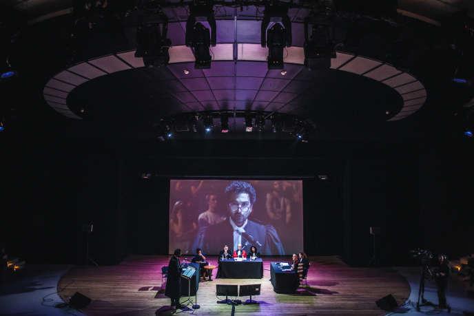 Le procès fictif d'un citoyen s'est tenule 6 octobre à l'Opéra Bastille.