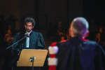 """Le (faux) procès d'un citoyen qui a décidé de dire non à l'Etat, le 6 octobre lors de l'édition 2018 de """"Le Monde Festival"""" à l'Opera Bastille à Paris. Lucas Barioulet pour Le Monde"""