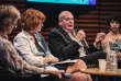 Pierre Foldes lors du débat «Clitoris, le grand tabou», le 6 octobre, dans le cadre du Monde Festival, à l'Opéra Bastille à Paris.