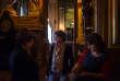 Roselyne Bachelot, Cécile Duflot et Najat Vallaud-Belkacem avant la conférence sur l'après-vie politique organisée lors du Monde Festival, au Palais Garnier, le 7 octobre.