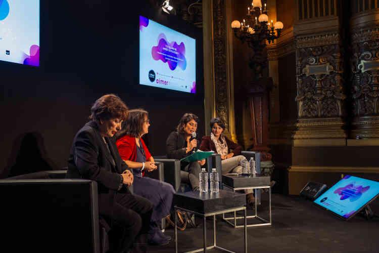 Y a-t-il une vie après la politique ? Roselyne Bachelot, Cécile Duflot et Najat Vallaud-Belkacem ont répondu aux questions de la journaliste du « Monde », Solenn de Royer.