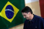 Jair Bolsonaro, le candidat de l'extrême droite au Brésil, s'est largement imposé au premier tour de l'élection présidentielle avec 46,06% des voix.