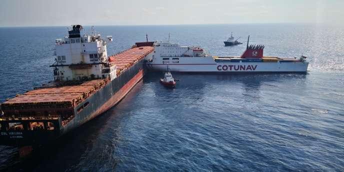 La collision entre les navires tunisiens et chypriotes a eu lieu, le 6 octobre, au large de la Corse.