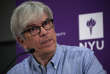 Paul Romer, the 2018 Nobel Prize in Economics co-winner, speaks during a news conference at the New York University (NYU) Stern School of Business in New York City, U.S., October 8, 2018.   REUTERS/Mike Segar