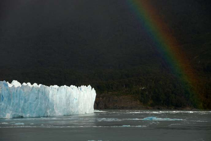 Le glacier Perito Moreno, en Argentine, le 12 mars 2018.