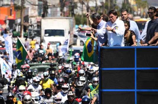 Jair Bolsonaro, à Brasilia, le 5 septembre 2018.