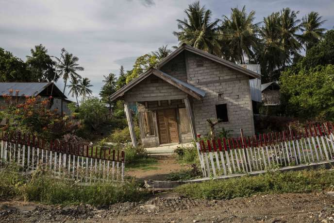 Une maison de la municipalité de Sigi, le 6 octobre.