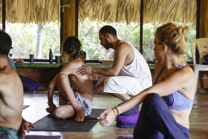 Le centre Hridaya Yoga.