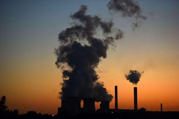 La centrale au charbon de Weisweiler (Allemagne), en 2015.