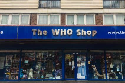 Dans l'est de Londres, une boutique est entièrement consacrée à« Doctor Who».