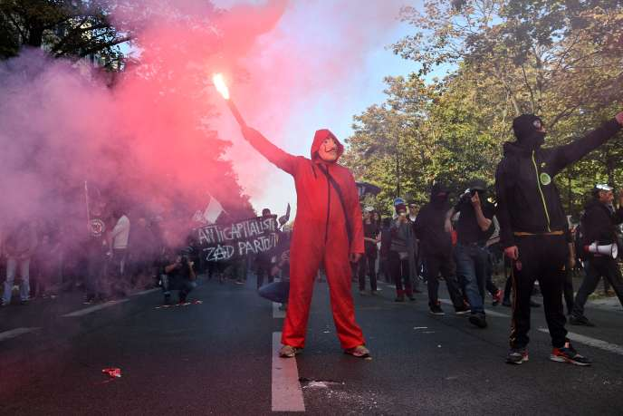 A Paris, le 9 octobre.