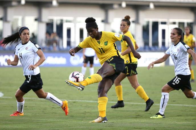 En marquant le seul but de la rencontre face au Costa Rica lors de la Gold Cup féminine en octobre 2018, Khadija Shaw a, comme souvent, mené les siennes à la victoire jusqu'à la qualification historique en Coupe du monde.