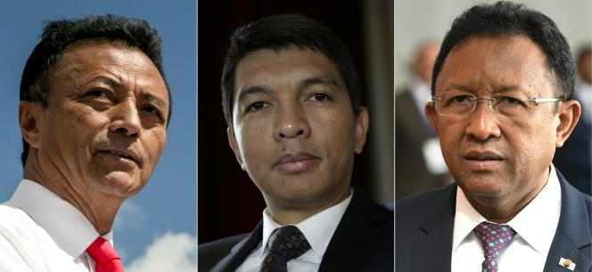 Trois anciens présidents se présentent à la magistrature suprême malgache le 7 novembre 2018 : Marc Ravalomanana, Andry Rajoelina et Hery Rajaonarimampianina.