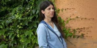 L'écrivaine Emmanuelle Pagano, en 2018.