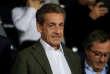 Nicolas Sarkozy au Parc des Princes, le 14 septembre, à Paris.