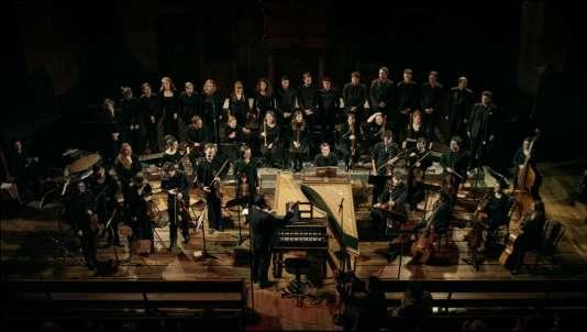L'ensemble de musique baroque Les Surprises dirigé parLouis-Noël Bestion de Camboulas.