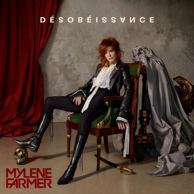 Pochette de l'album« Désobéissance», de Mylène Farmer.