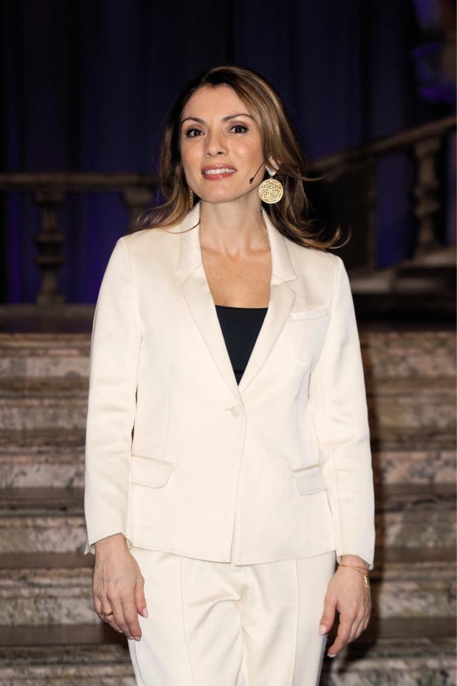 La journaliste gréco-suédoise Alexandra Pascalidou est engagée en faveur de l'égalité, la démocratie, la lutte contre le racisme.