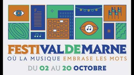 Affiche du Festi'Val-de-Marne.