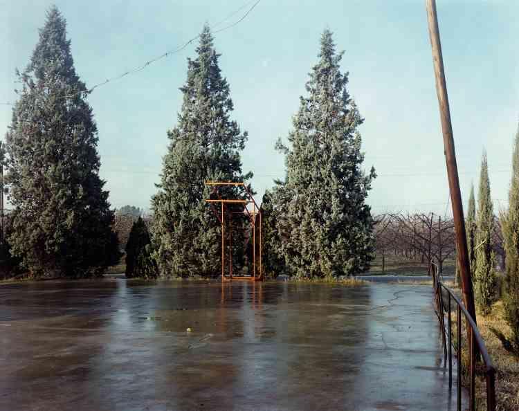 Via Chiesa di Ronta, Cesena, 1984.