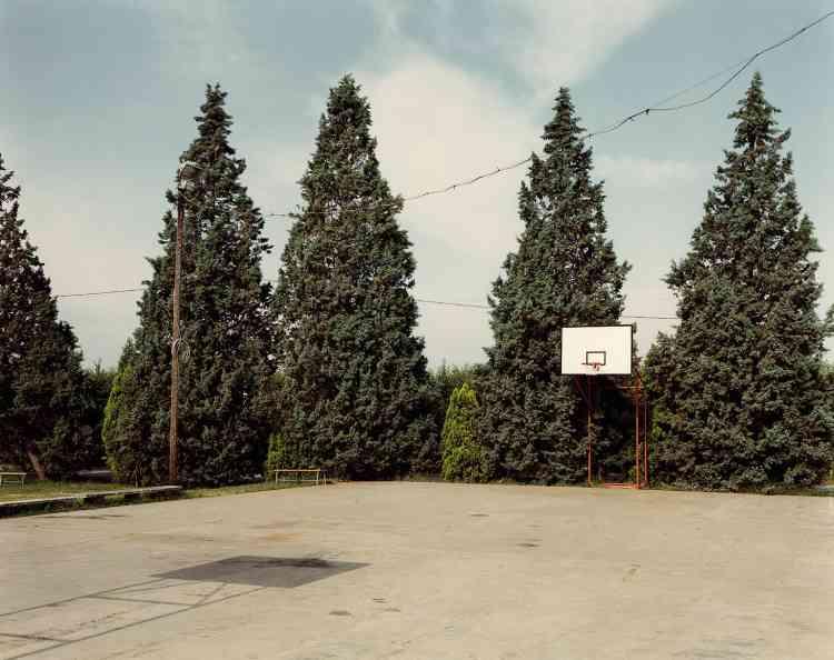 Via Chiesa di Ronta, Cesena, 1985.