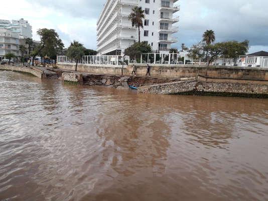 Les pluies, qui sont tombées en quelques heures, ont surpris par leur intensité.