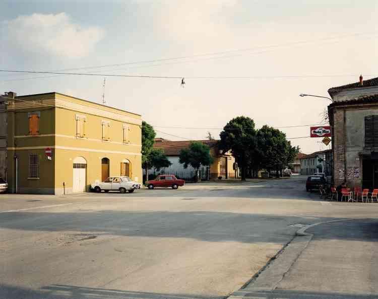 Via Emilia, Forlimpopoli, 1985.