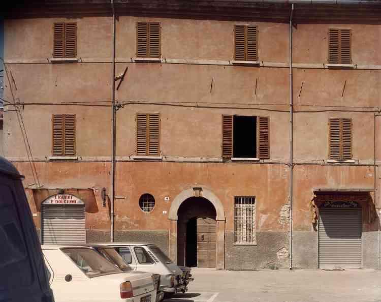 Piazza Aguselli, Cesena, 1984.
