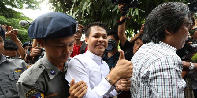 trois-journalistes-birmans-arrêtés-pour-avoir-critiqué-un-proche-d'aung-san-suu-kyi