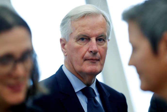Le négociateur de l'Union européenne sur le Brexit, Michel Barnier, le 10 octobre à Bruxelles.