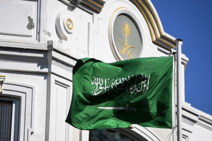 Au consulat d'Arabie saoudite à Istanbul, le 10 octobre.