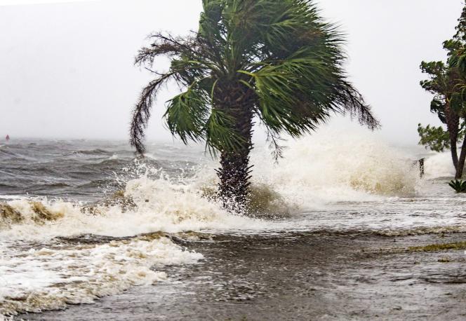 Shell Point Beach, Floride, le 10 octobre 2018.