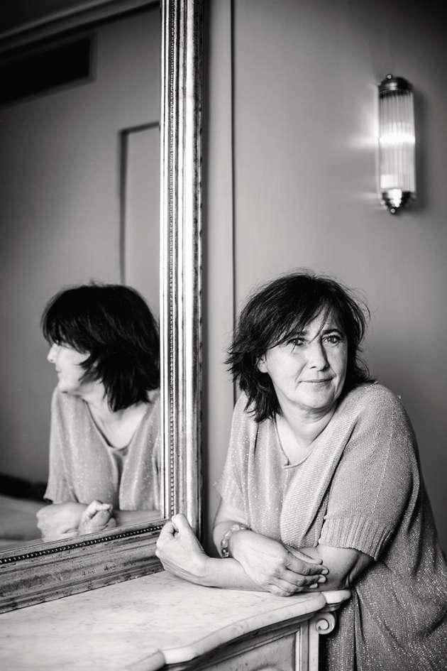 Valérie Guérin, vigneronne dans le Languedoc.