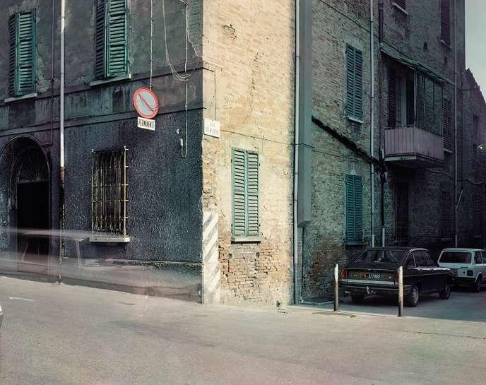 Via Caporali, Cesena, 1985.