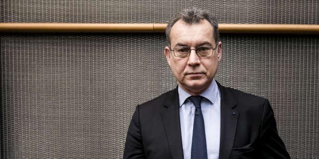 Pierre-Franck Chevet, président de l'Autorité de sûreté nucléaire (ASN), lors d'une audition à l'Assemblée nationale, le 22 février 2017.