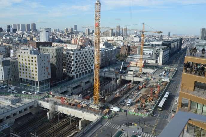 Dans le quartier de la bibliothèque François-Mitterrand, 15 innovations urbaines ont été sélectionnées par l'Urban Lab au terme d'un concours.