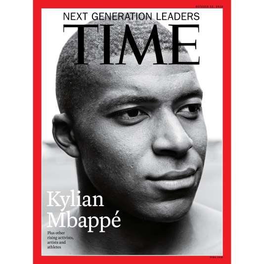 La star du Paris SGs'affiche à la « une» de l'édition internationale du «Time» publiée jeudi 11 octobre.