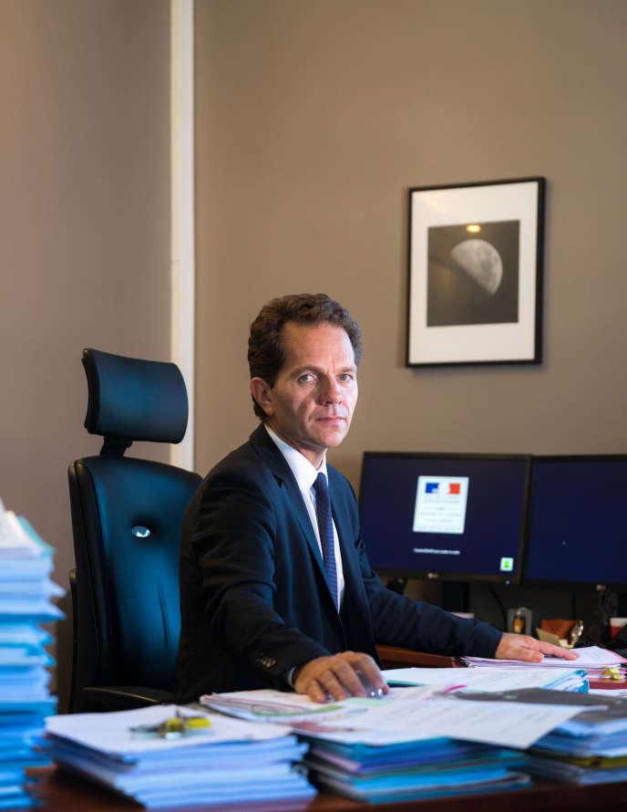 Frédéric Chevallier, procureur de la République près le tribunal de grande instance de Blois et avocat général lors du procès de Jacqueline Sauvage.